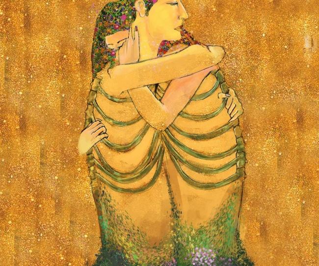 Художник из Египта научился рисовать чувства, которые невозможно передать словами