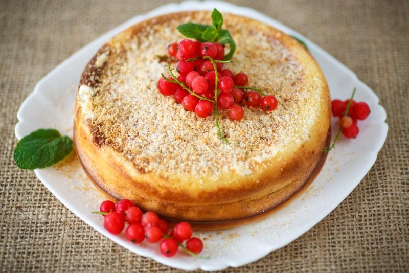 Творожный пирог «Слезы ангела»: как только он остынет, волшебство начнется… Начинка воздушная, как облачко!
